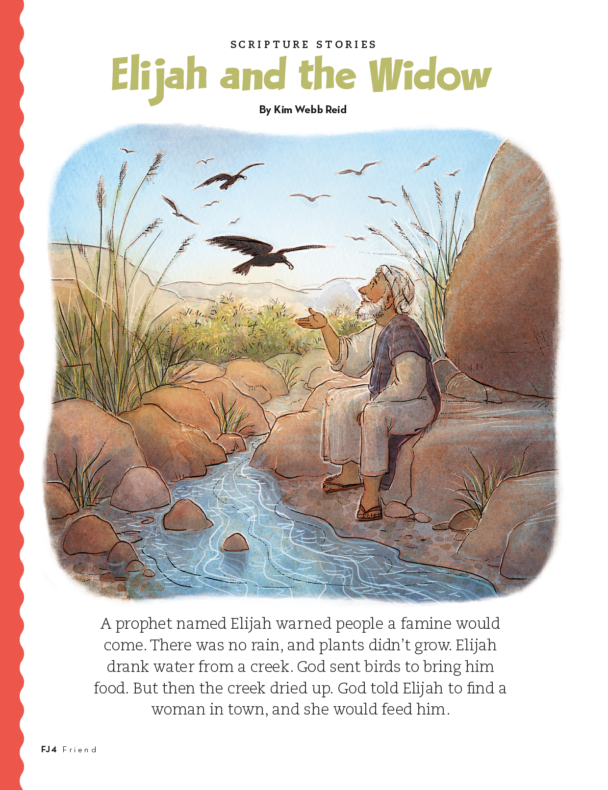 story of Elijah, page one