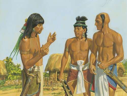 Lamanites talking