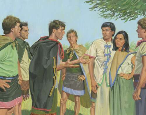 Alma the Younger and sons of King Mosiah