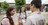 sister missionaries talking to young man