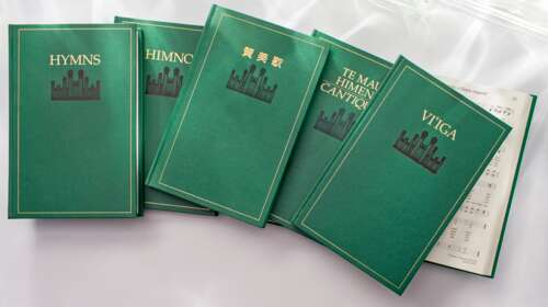 hymnbooks in various languages