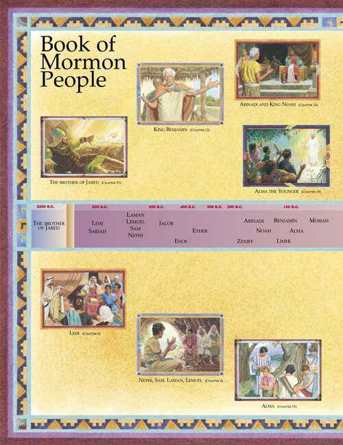 Book of Mormon people, left page