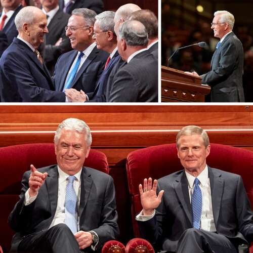 Apostles at general conference