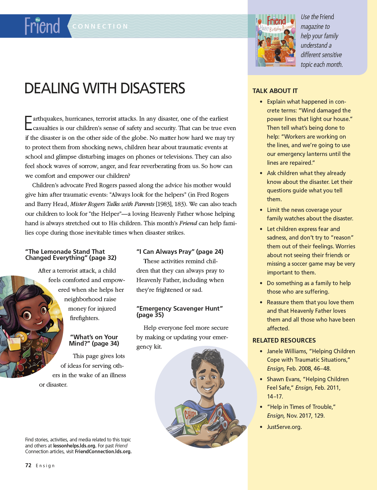 Dealing with Disasters - ensign