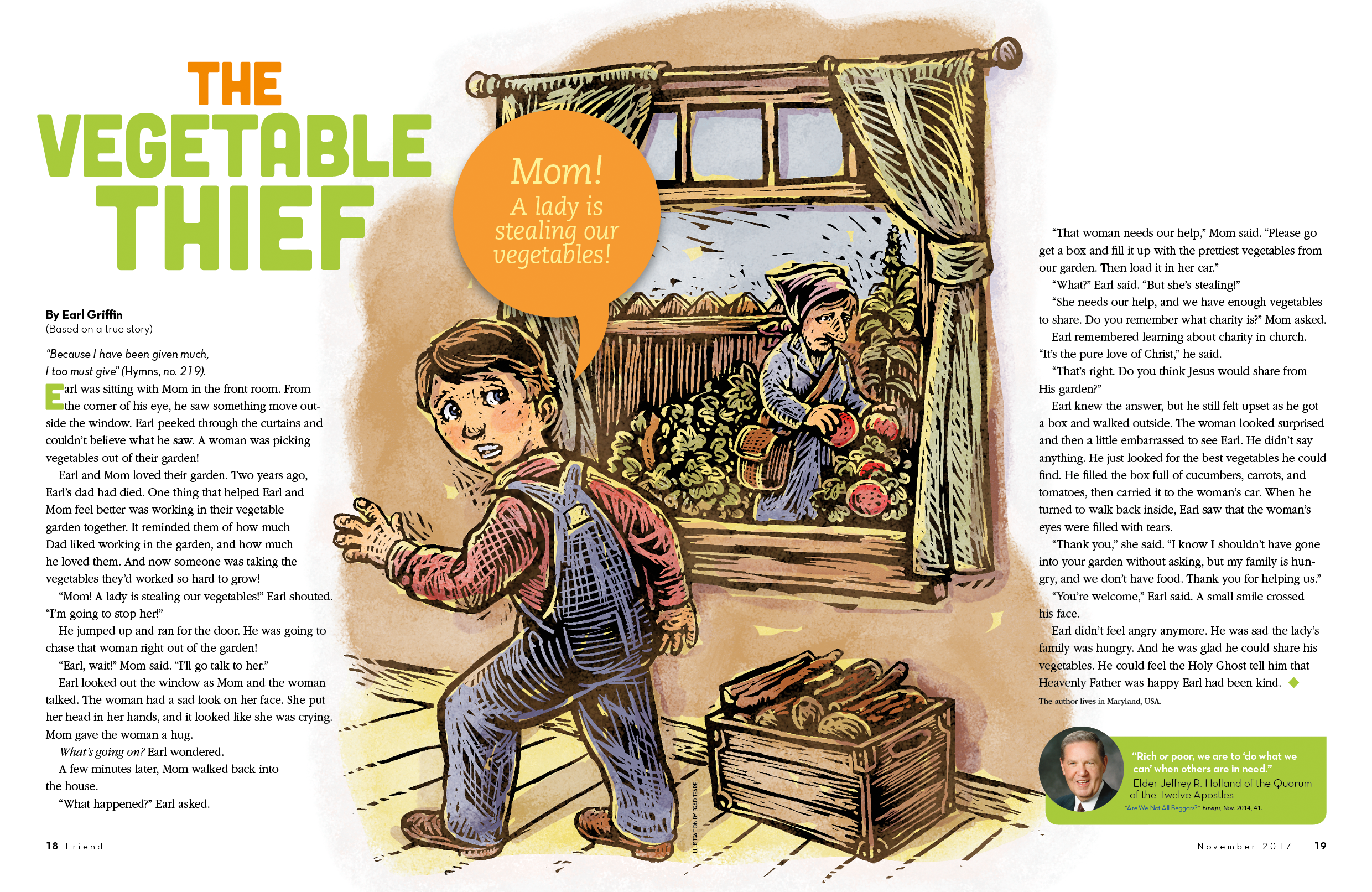 The Vegetable Thief