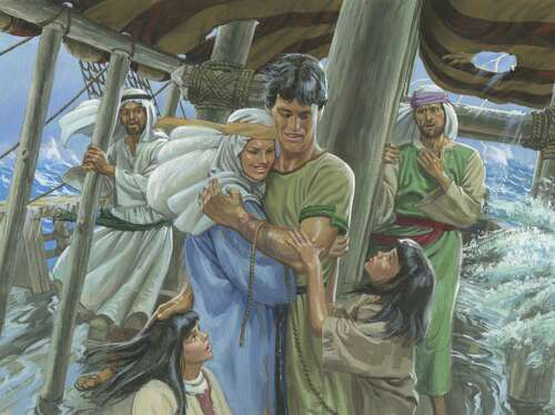 Nephi with family
